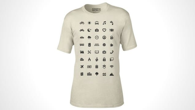 The ICONSPEAK T-Shirt Is the Perfect Apparel for Any World Traveler