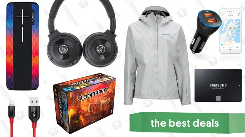 Illustration for article titled Tuesday's Best Deals: The Best Board Game, Over-Ear Headphones, Marmot Sale, and More