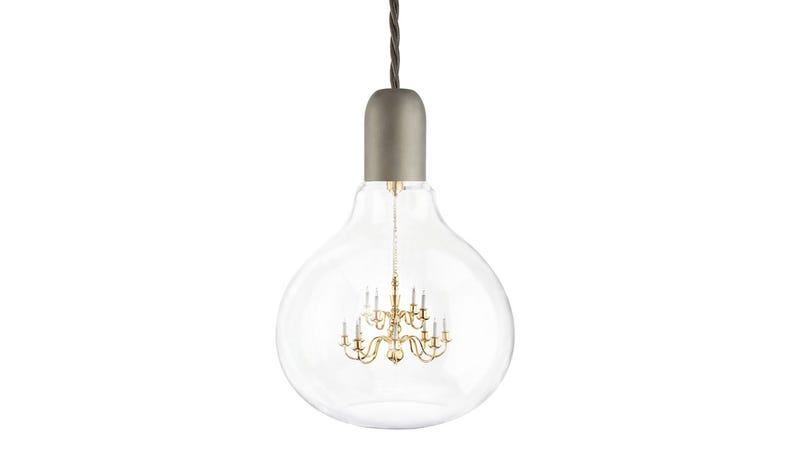 Illustration for article titled A Chandelier Light Bulb Is Unreasonably Adorable
