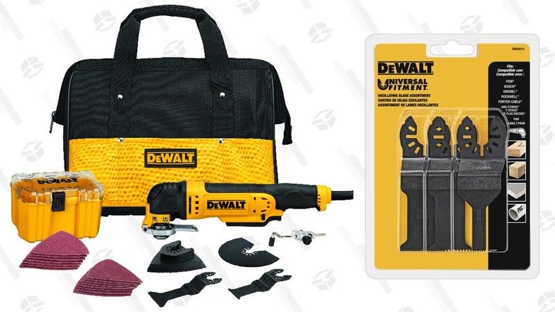 DEWALT DWE315K Multi Material Corded Oscillating Tool Kit | $90 | Amazon