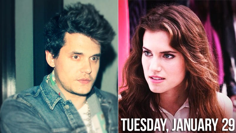 Illustration for article titled Serial Dater John Mayer Lurches Over To Allison Williams