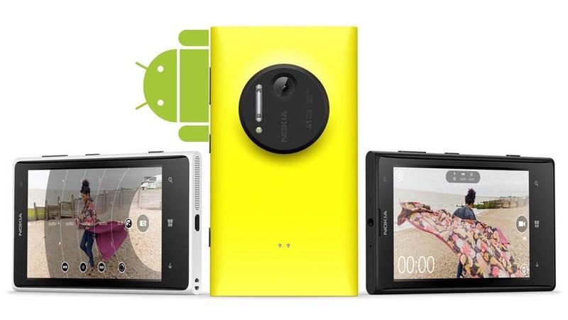 Illustration for article titled Lo que pudo ser y no fue: Nokia estaba probando móviles con Android