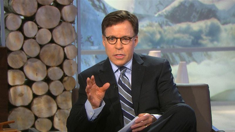 Illustration for article titled Bob Costas' gross eyes are taking the night off from the Olympics