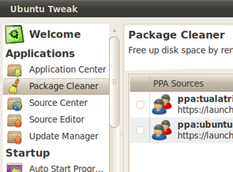Illustration for article titled Use Ubuntu Tweak to Purge and Downgrade Third-Party Apps