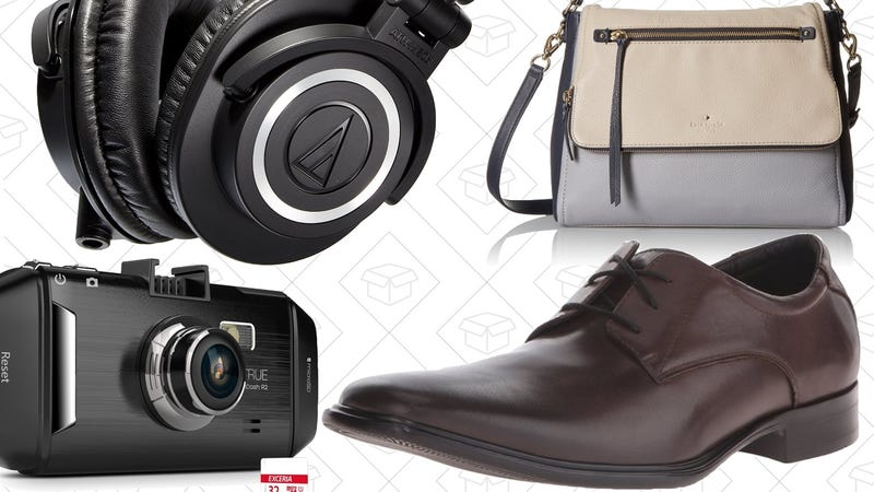Illustration for article titled Today's Best Deals: Discounted Shoes, Affordable Bags, Popular Dash Cam, and More