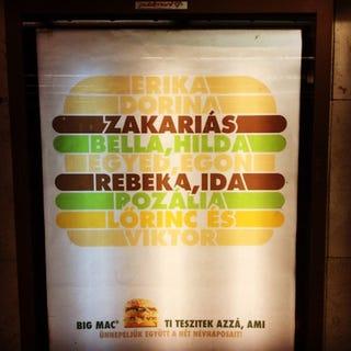 Illustration for article titled A Big Mac reklámjában óriási orbánviktoros utalást rejtettek el