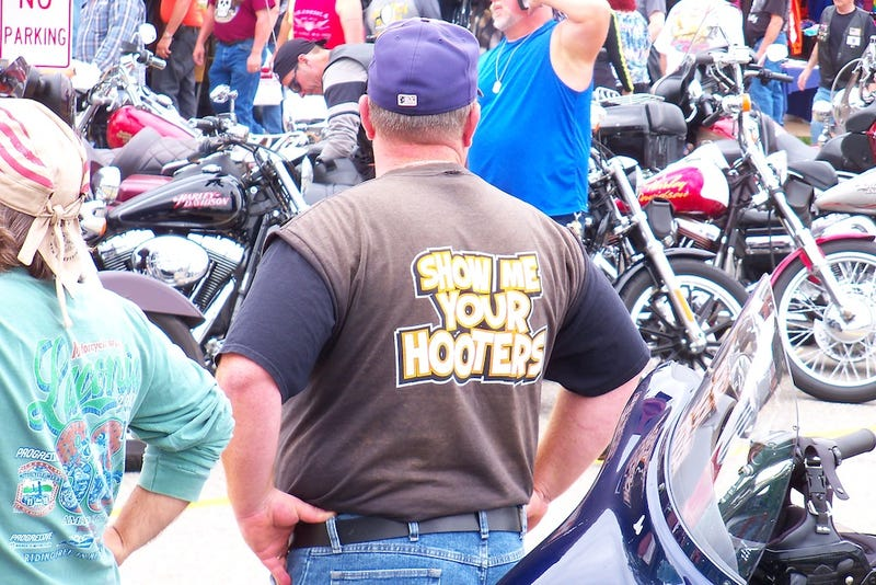 Illustration for article titled Throbbing Pipes And Pussy By The Can: Scenes From Laconia Bike Week