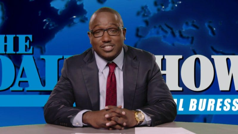 """Illustration for article titled Hannibal Buress released his """"secret Daily Show audition tape"""""""