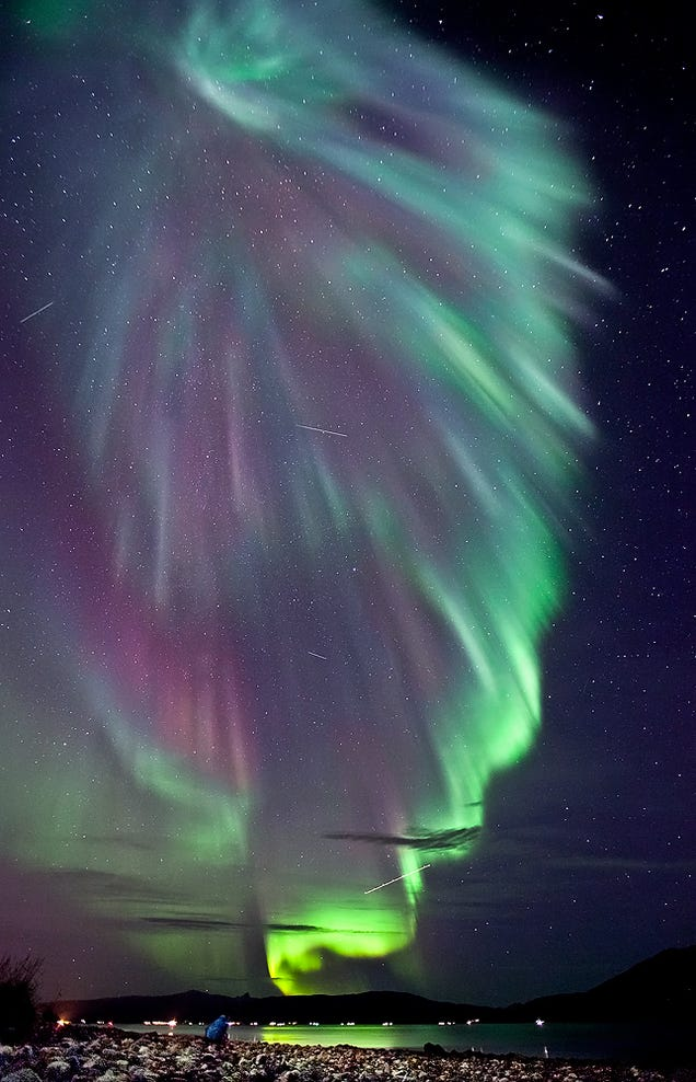 Aurora Astronomy Borealis Flag (page 2) - Pics about space