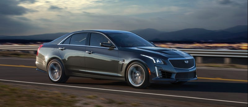 Illustration for article titled Beastly 2016 Cadillac CTS-V Starts At $84K, Still Cheaper Than Germans