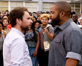 Charlie Day and Ice Cube in Fist Fight (Warner Bros. Pictures)