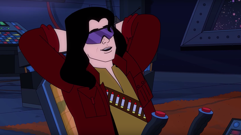 Illustration for article titled Tommy Wiseau and Greg Sestero are intergalactic bounty hunters in the animated pilot SpaceWorld