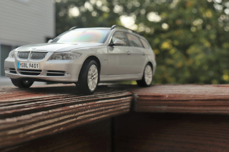 Illustration for article titled Kyosho BMW E91 Touring