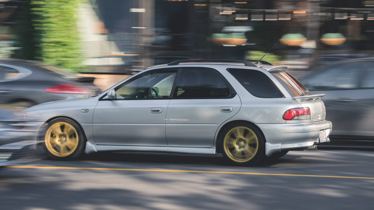 Here's How The Forbidden Fruit Subaru WRX From The 1990s