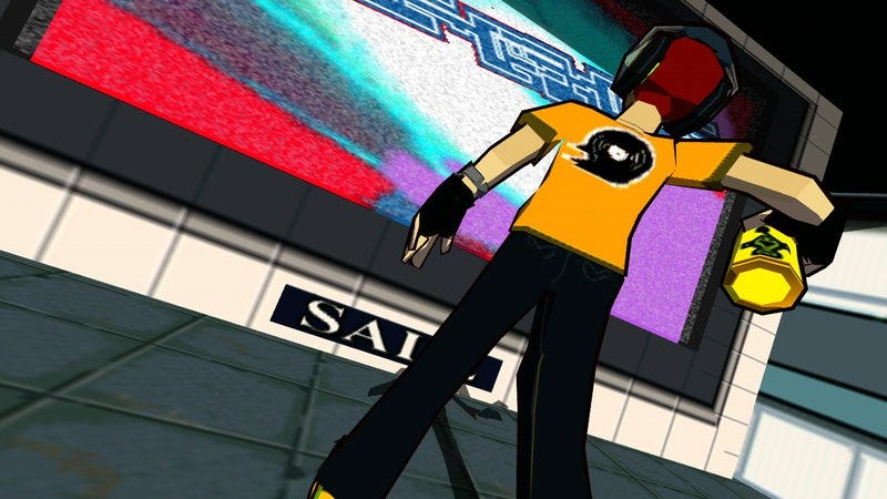 Screenshot: Jet Set Radio/Sega