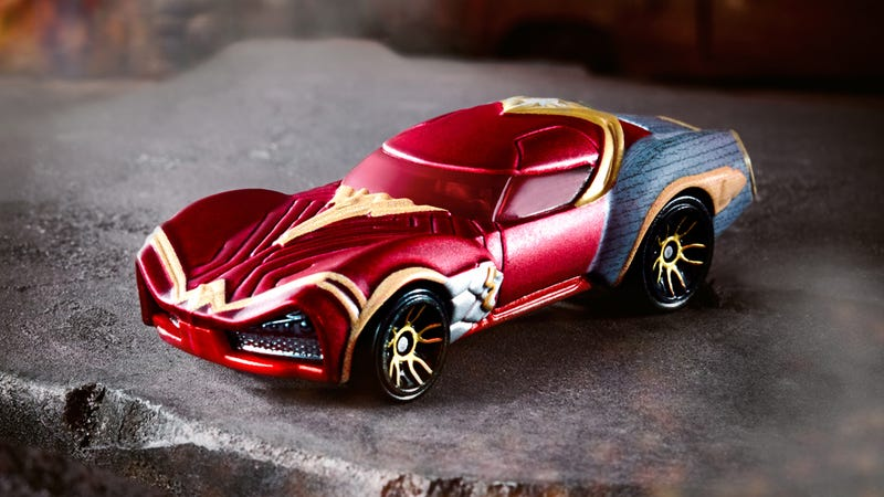 Illustration for article titled Hot Wheels Rolls Out Four New Character Cars, But Wonder Woman Steals the Show