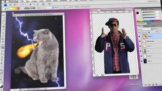 Illustration for article titled Photoshop Tutorial Rap 2: Still Surprisingly Handy!