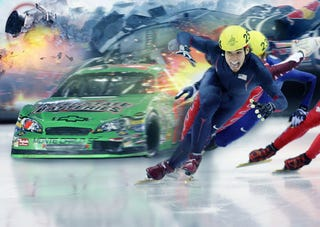 Illustration for article titled Why The Winter Olympics Are Like Car Racing
