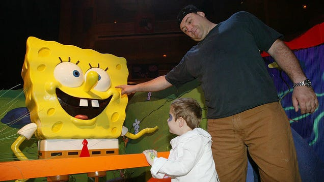 At long last, we know why James Gandolfini and SpongeBob were such good buddies