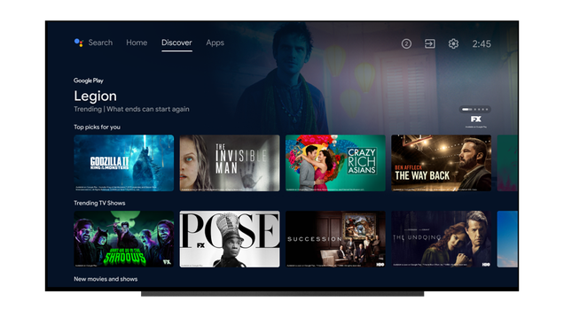 Android TV Is Getting a Big Update With a New Discovery Page