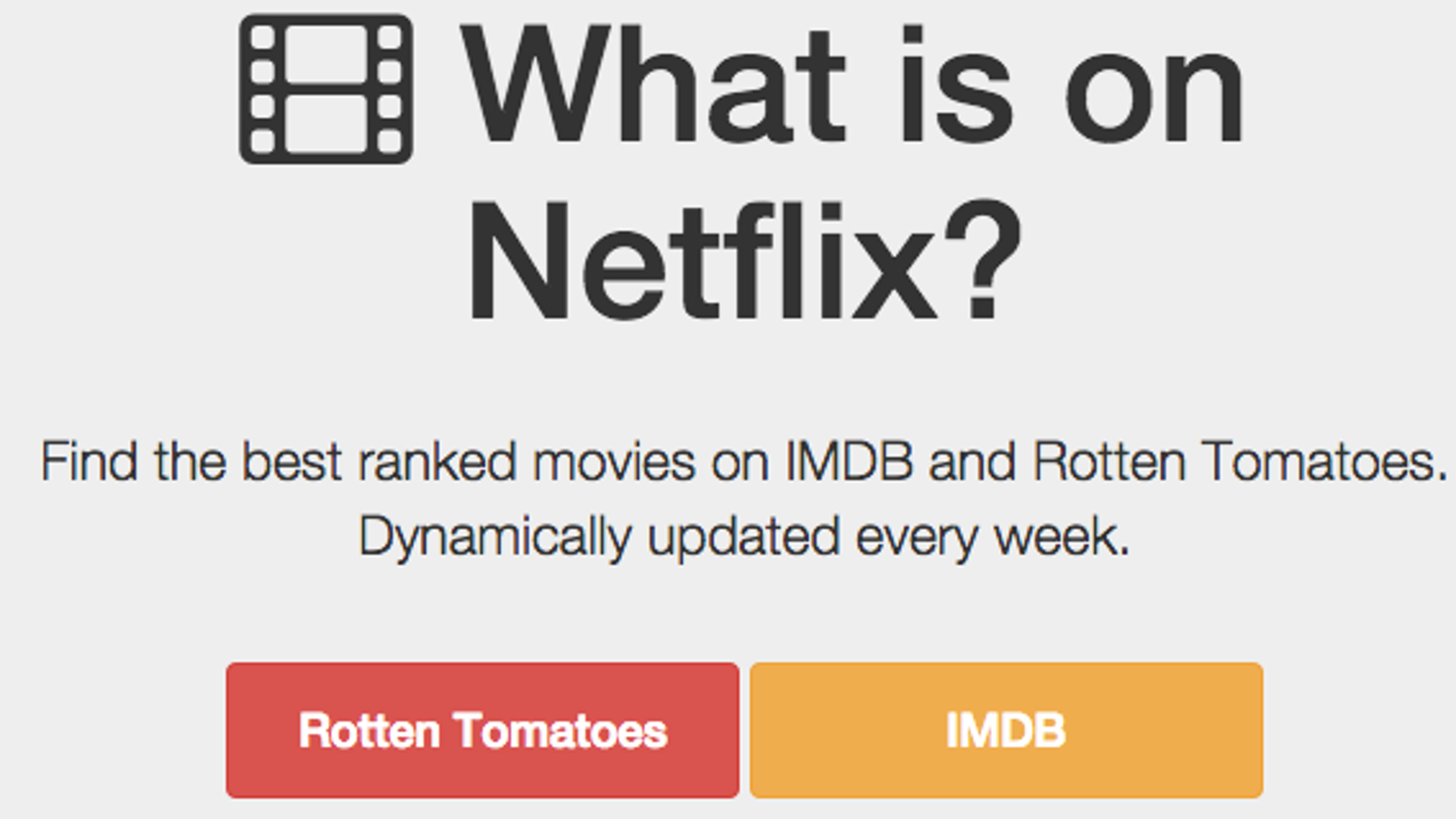 You\'ll Never Not Know What To Watch On Netflix Again