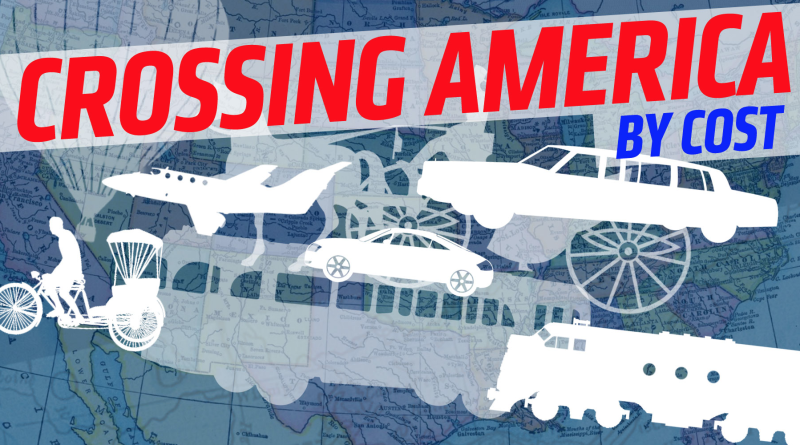 Estas son las formas más caras en las que puedes cruzar todo Estados Unidos