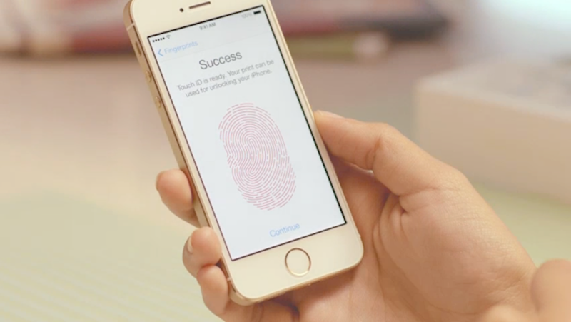 how to make your fingerprint your password