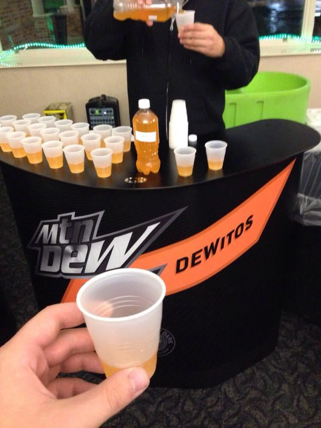 Please Don't Be Real, Doritos Flavored Mountain Dew