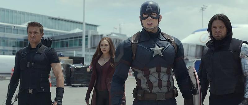 Illustration for article titled Todos los secretos del tráiler de Captain America: Civil War, escena por escena