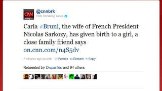 Illustration for article titled Carla Bruni Sarkozy Gives Birth To Baby Girl