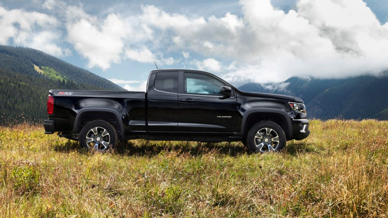 Illustration for article titled The 2015 Chevrolet Colorado Is The Next Great American Small Truck