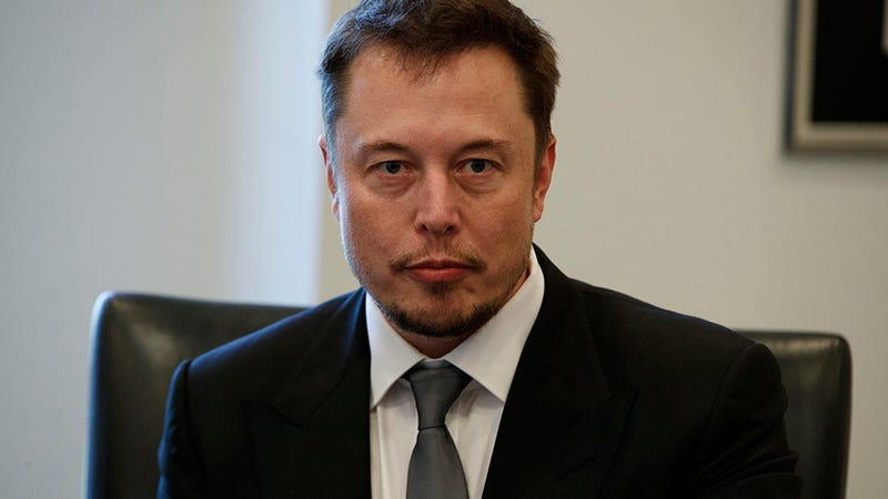 Musk during last month's meeting at Trump Tower. Image: AP Photo/Evan Vucci