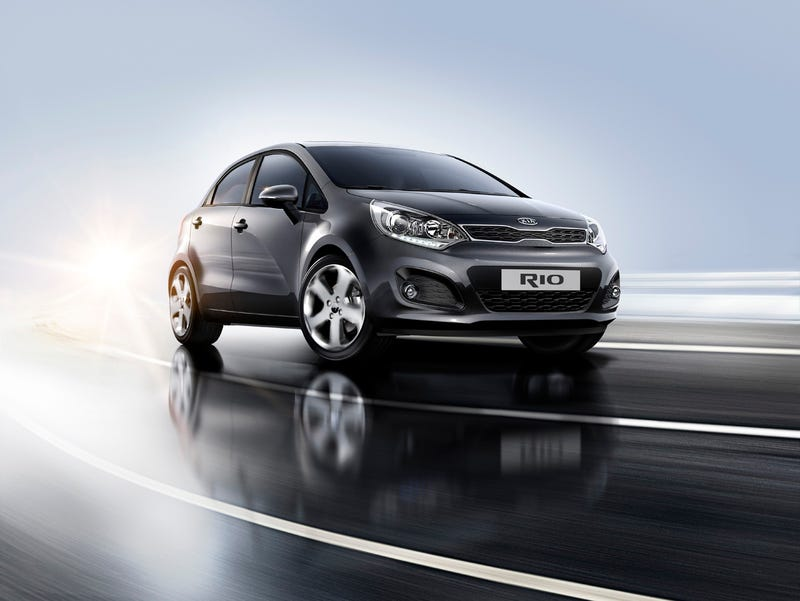 Illustration for article titled REPORT: Kia reveals Rio sedan to go to New York auto show