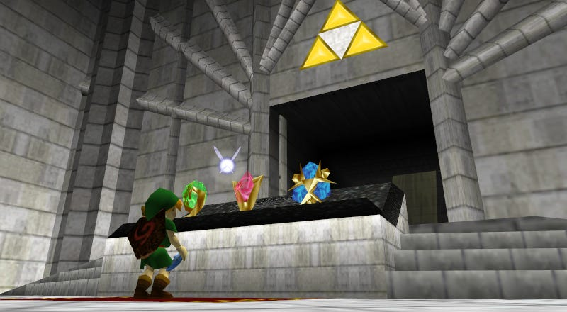 Illustration for article titled What If Link Failed To Open The Doors In The Temple of Time?