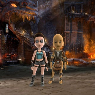 Illustration for article titled Tomb Raider Avatar Items Available For Plunder On Thursday