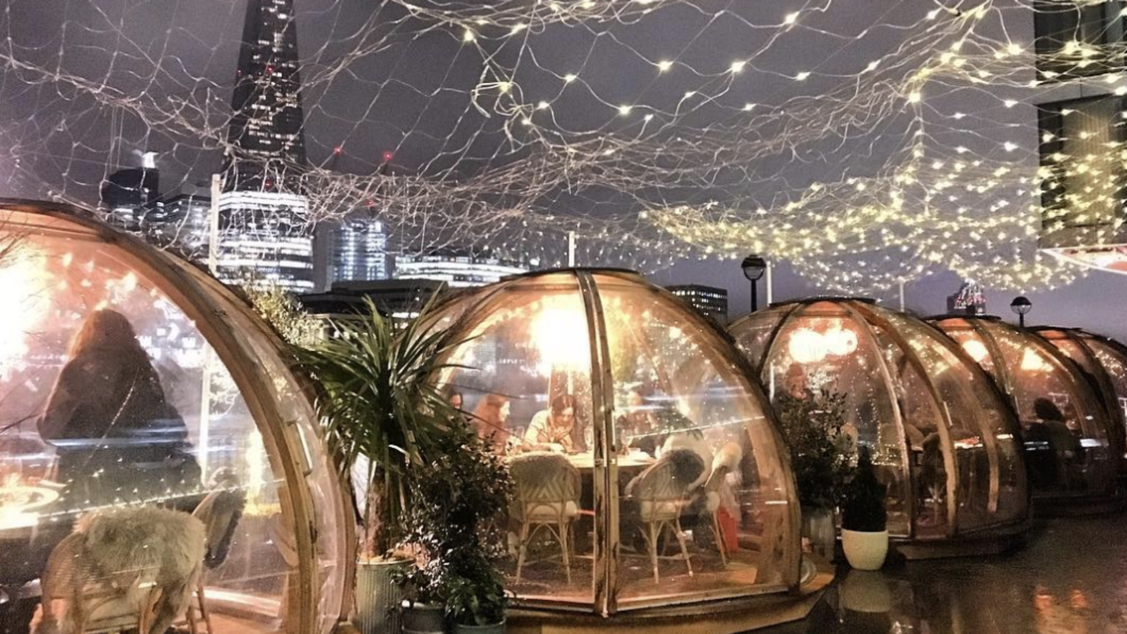 The Future Of Not Going Outside Is Plastic Domes All Over
