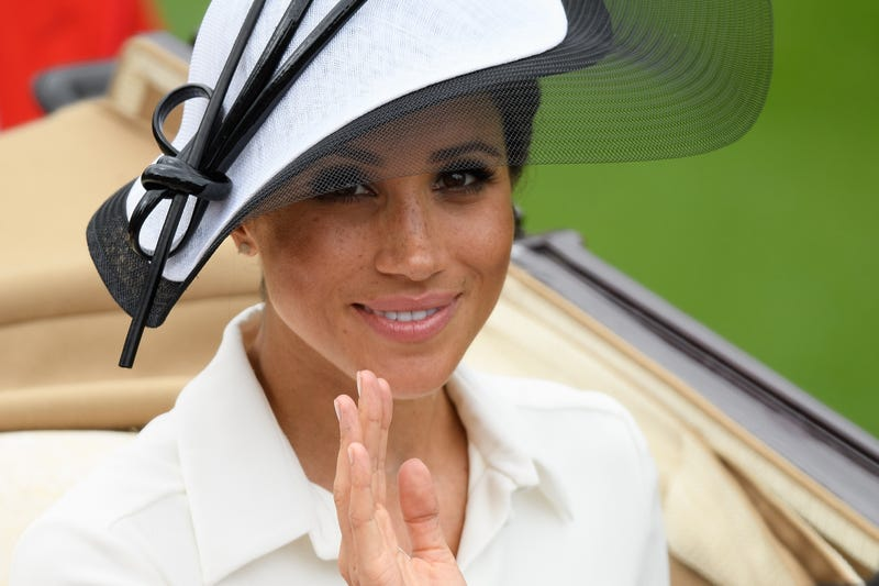 Meghan, Duchess of Sussex, at the Royal Ascot at the Ascot Racecourse on June 19, 2018, in Ascot, England.