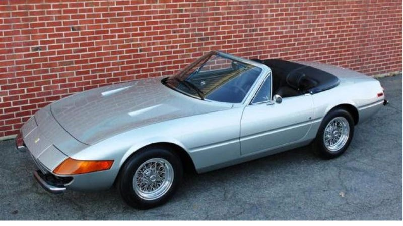 Illustration for article titled You Could Buy The Creator Of Soul Train's Ultra-Rare Ferrari Daytona Spider