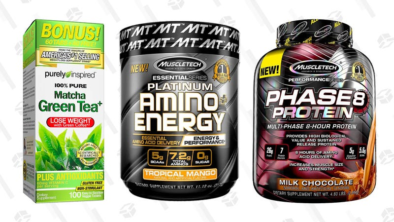 Purely Inspired and MuscleTech Gold Box | Amazon