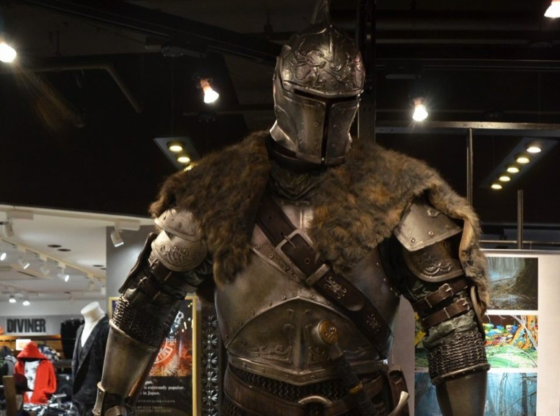 Illustration for article titled Dark Souls III Comes to a Tokyo Shopping Mall