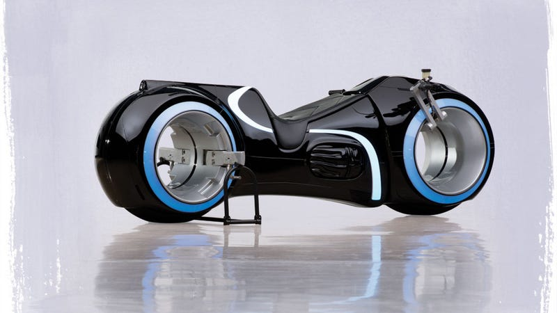 Illustration for article titled Fully-Functional TRON Lightcycle Sold For $77,000