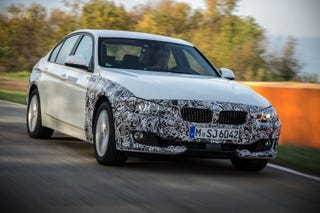 Illustration for article titled BMW 340i: New top model for facelift, no three-cylinder