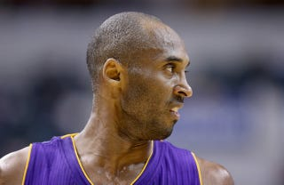 Illustration for article titled Kobe Bryant Doesn't Have Any Friends