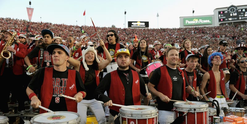 Illustration for article titled Rose Bowl Officials Condemn Stanford Band For Mocking Iowa During Halftime Show
