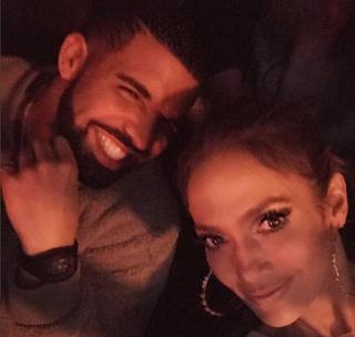 Jennifer Lopez  and DrakeInstagram