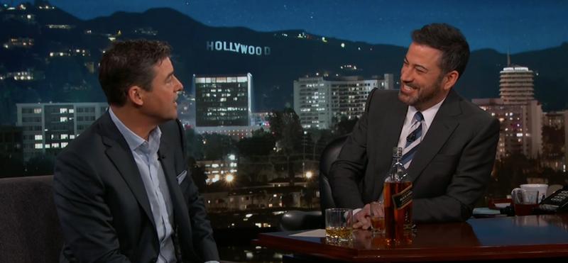 Kyle Chandler, Jimmy Kimmel