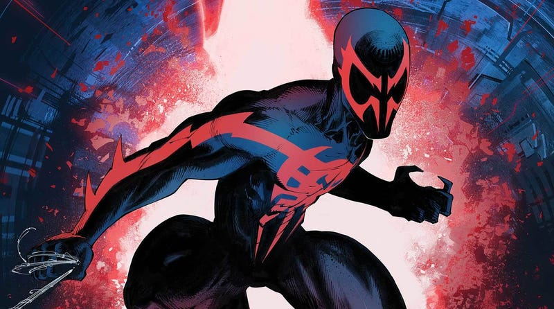 Return to Marvel's 2099 with this exclusive first look at December's titles