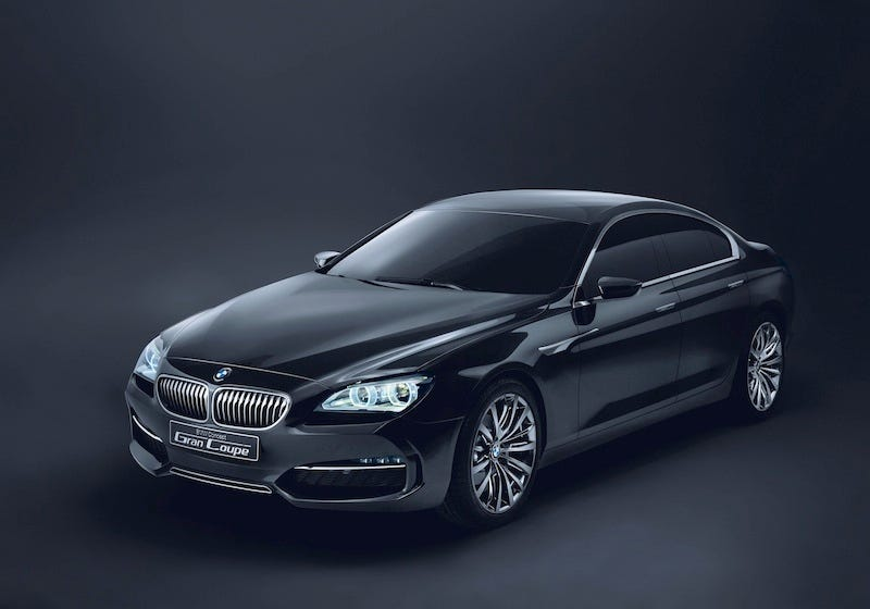 Illustration for article titled BMW Concept Gran Coupé: Elegance, Wasted?