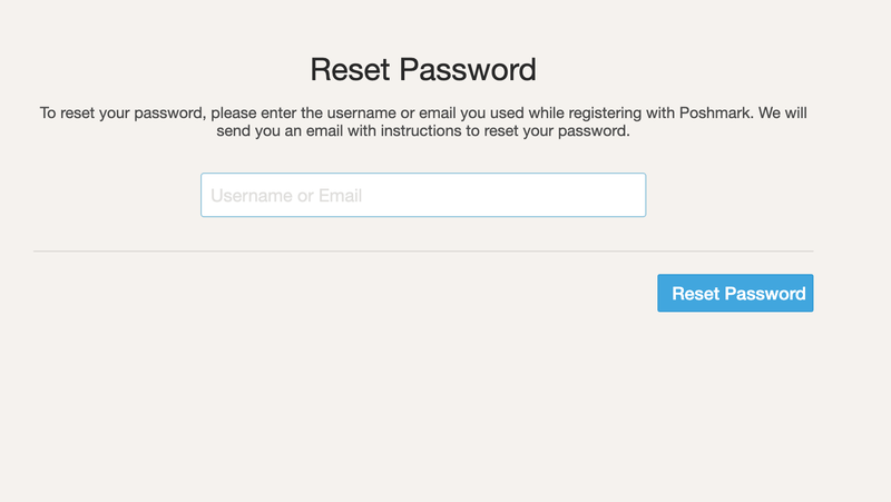 Illustration for article titled Poshmark Users, You Need to Reset Your Passwords