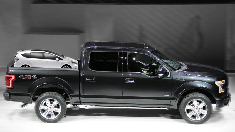 Illustration for article titled Why The 2015 Ford F-150 Is Better For The Environment Than The Prius